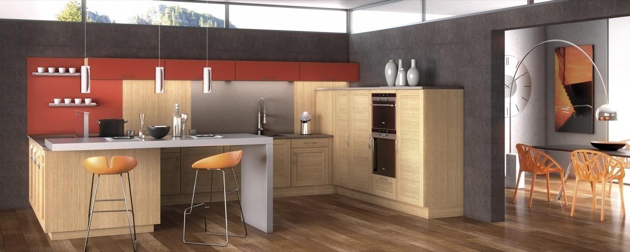 cr ation cuisine cherbourg octeville am ricaine contemporaine quip e cuisines gambetta. Black Bedroom Furniture Sets. Home Design Ideas